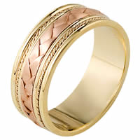 Item # 110041E - Braided Wedding Band