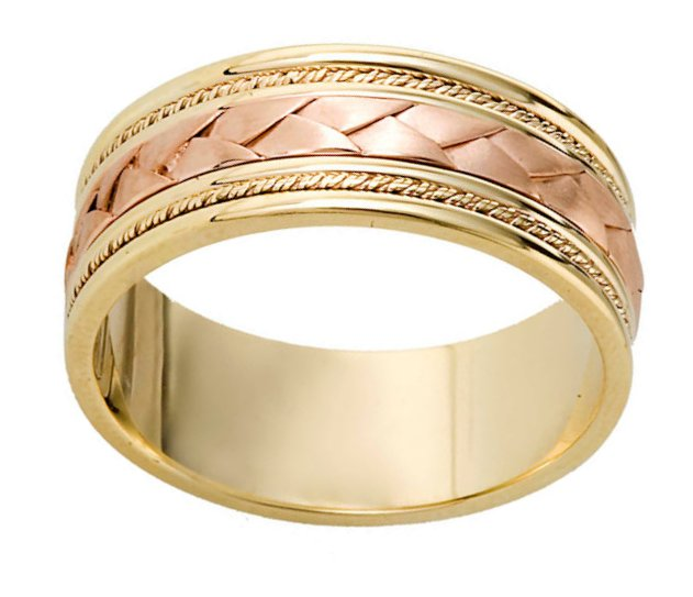Item # 110041 View 2 - Braided Wedding Band