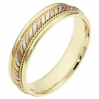 Item # 110061E - 18K  Gold Comfort Fit Wedding Band
