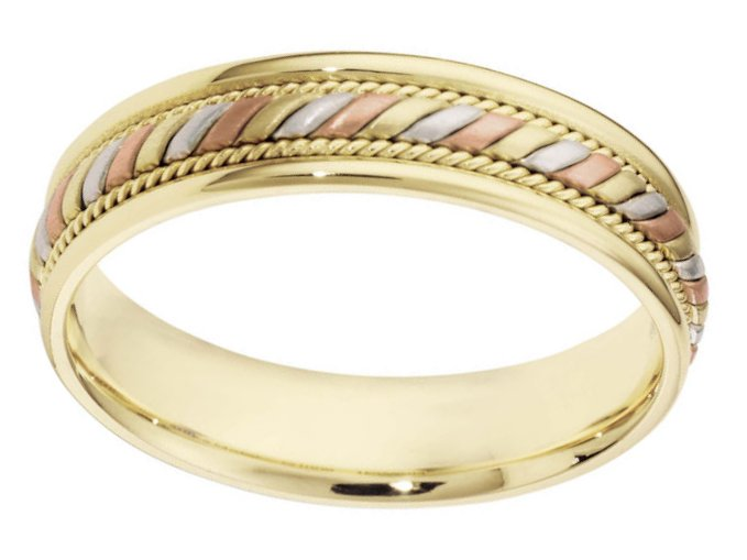 Item # 110061 View 2 - 14K Gold Comfort Fit Wedding Band
