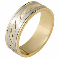 Item # 110091 - Hand Made Wedding Band 14 kt