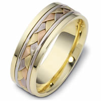 Item # 110101E - 18 kt Hand Made Wedding Band