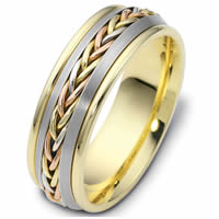 Item # 110221 - 14 kt Hand Made Wedding Band
