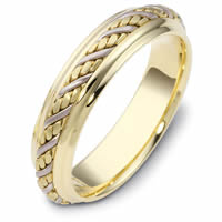 Item # 110241 - 14 kt Hand Made Wedding Ring