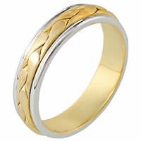 Item # 110251 - 14 kt Hand Made Wedding Ring