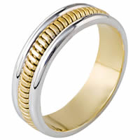 Item # 110281 - Wedding Band 14kt Hand Made