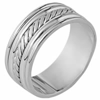Item # 110331PP - Platinum Comfort Fit  Wedding Band