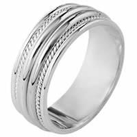 Item # 110341PD - Palladium Comfort Fit Wedding Band
