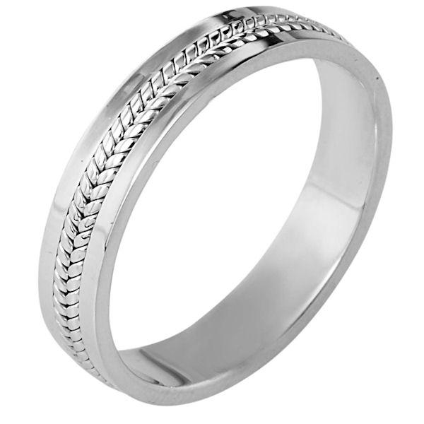 110421PD Palladium Comfort Fit Wedding Ring