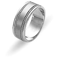 Item # 110551PD - Palladium Wedding Ring