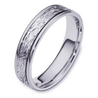 Item # 110581PD - Palladium Comfort Fit 5mm Wedding Band