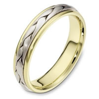 Item # 110661E - Wedding Band 18 kt Hand Made