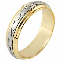 Item # 110711 - 14 kt Hand Made Wedding Band