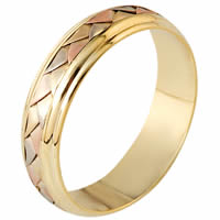 Item # 110821 - 14 kt Hand Made Wedding Band