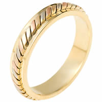14K Gold Comfort Fit, 5.0mm Wide Wedding Ring