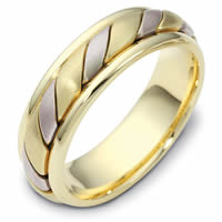 Item # 110961E - 18K Gold Comfort Fit, 5.5mm Wide Wedding Band