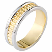 Item # 111001 - 14K Gold Comfort Fit, 7.0mm Wide Wedding Band