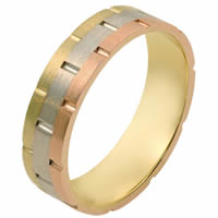 Item # 111111E - 18K Gold Comfort Fit, 5.0mm Wide Wedding Band