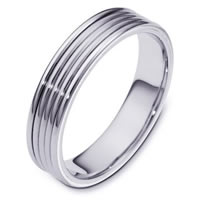 Wedding Ring 14K White Gold