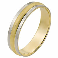 Item # 111241E - 18kt Gold Wedding Band