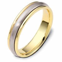 18K Gold Comfort Fit, 5.0mm Wide Wedding Ring