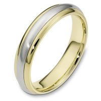 Comfort Fit, 5.0mm Wide Wedding Ring