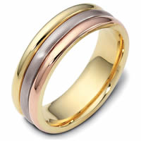 Item # 111321E - 18K Gold Comfort Fit, 6.5mm Wide Wedding Band