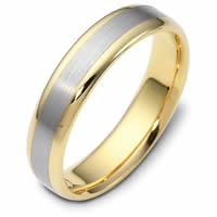 18kt Comfort Fit 5.0mm Wide Wedding Ring
