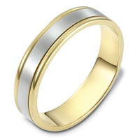 Item # 111371E - 18K Gold Comfort Fit, 5.0mm Wide Wedding Band