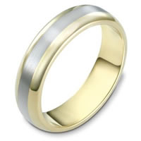 14K Gold Comfort Fit, 5.5mm Wide Wedding Band