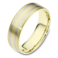 Item # 111431E - 18 K Gold Comfort Fit, 6.5mm Wide Wedding Band