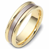 Item # 111491E - 18K Gold Comfort Fit, 6.5mm Wide Wedding Band