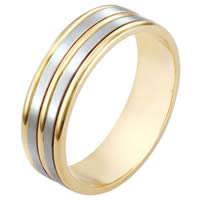 Item # 111521E - 18kt Gold Wedding Band