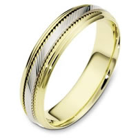 Item # 111631E - 18K Gold Comfort Fit, 5.5mm Wide Wedding Band