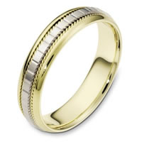 Item # 111641E - 18kt Gold Wedding Band