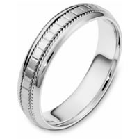 Wedding Band Platinum hand made