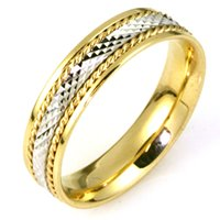 18K Gold Comfort Fit, 5.5mm Wide Wedding Band