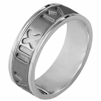 Item # 111911TG - Titanium and Gold Wedding Band