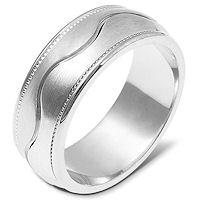 Item # 112051W - 14kt Gold Wedding Band