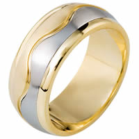 Item # 112061E - 18kt Gold Wedding Band