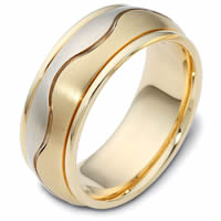 Item # 112071E - 18kt Gold Wedding Ring