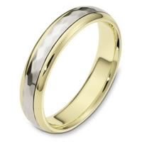 Item # 112601 - 14 K Gold Wedding Ring Rotating Center
