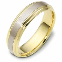 18kt Two-Tone Plain