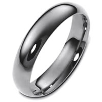 Item # 112951TI - Titanium 6.0mm Wide Men