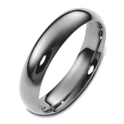Item # 112951TI - Titanium, plain , 6.0 mm wide, comfort fit wedding band. This is a plain wedding band and is polished. Different finishes may be selected or specified.