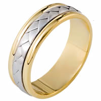 Item # 113111 - Wedding Ring 14 Kt Hand Made