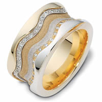 Item # 113311AE - 18K Gold Diamond Anniversary Ring