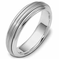 Center Rotating Wedding Ring