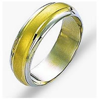 Item # 114211E - 18 kt Gold Wedding Band