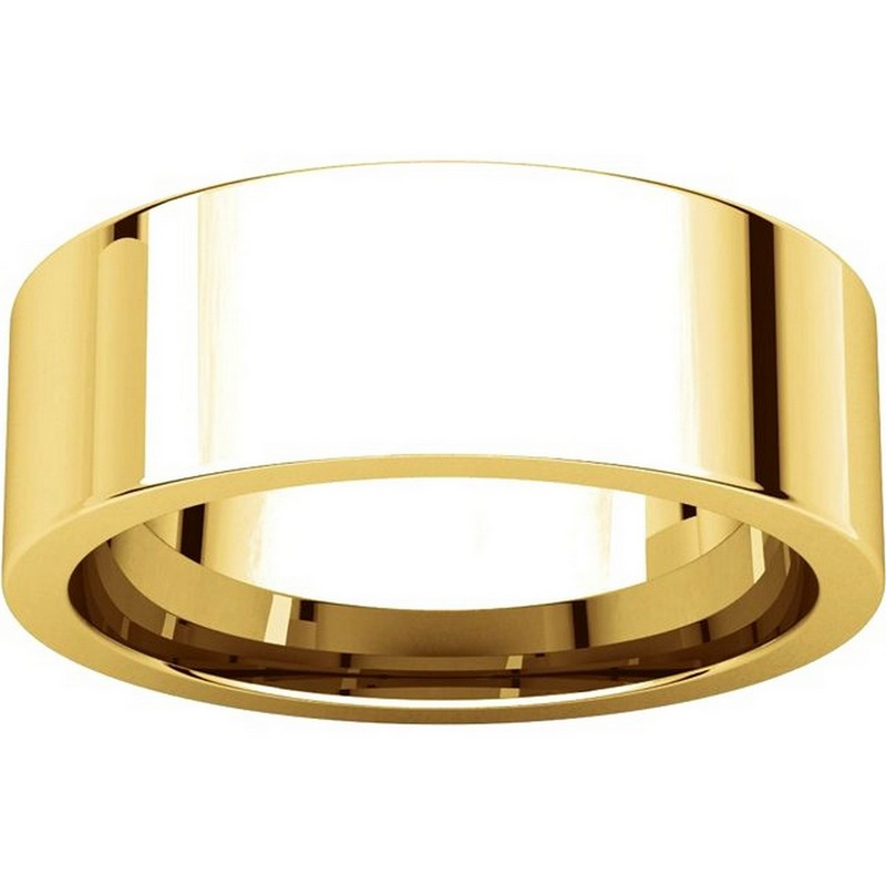Item # 114771 View 3 - 14K Yellow Gold Wedding Band
